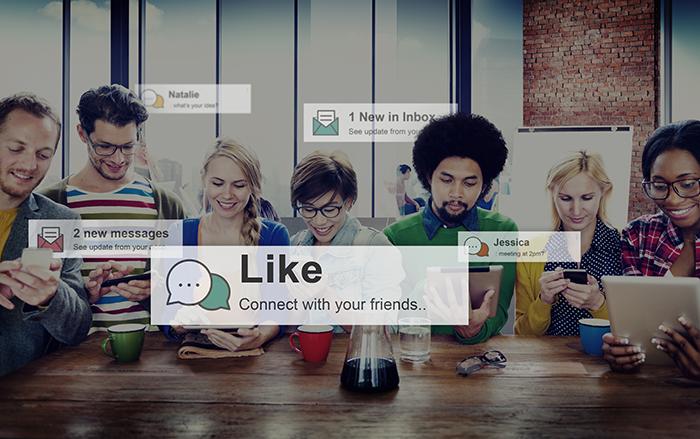 redes sociales en venta directa