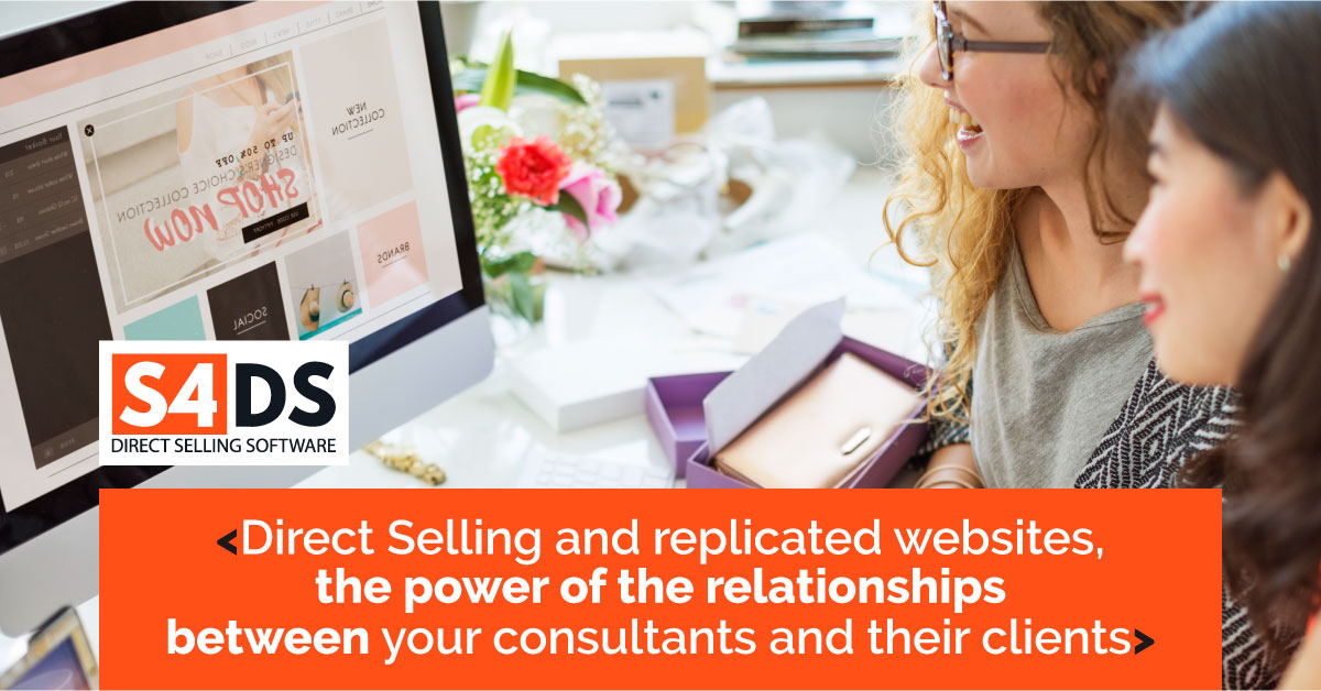 Direct Selling S4 Replicated Websites