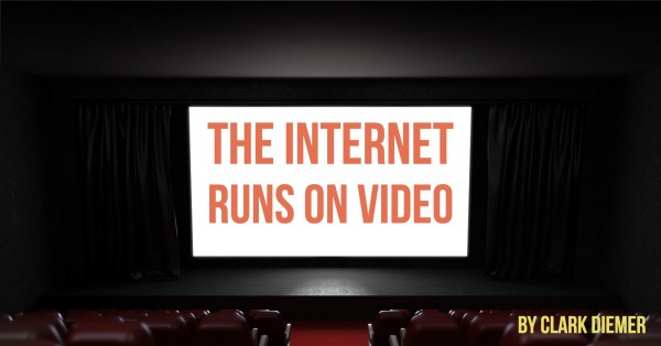internet runs on video
